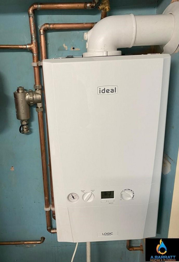 Conventional boiler install