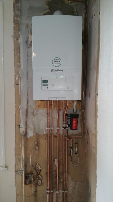 New Vaillant Boiler