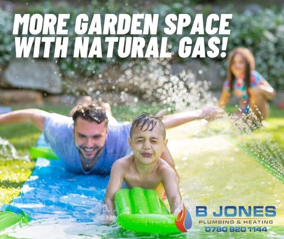 More space in garden