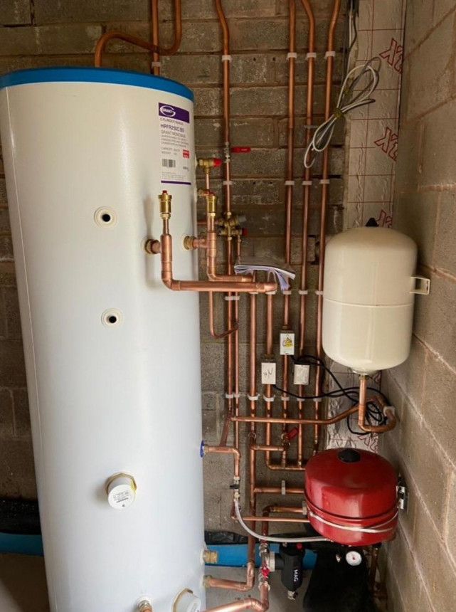 Hot Water Cylinder for ASHP