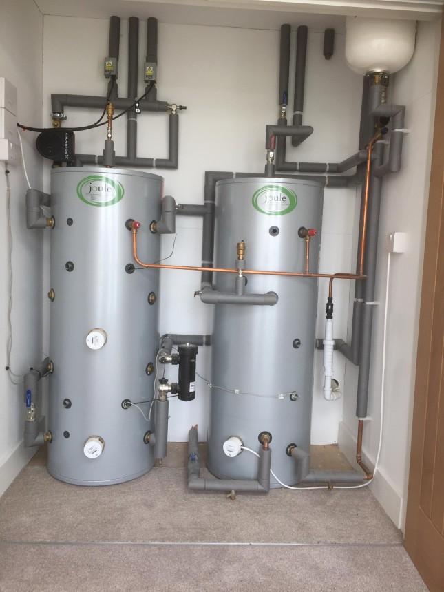 Twin Cylinder Installation