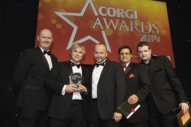 Regional Corgi Installer of The Year Winners 2010