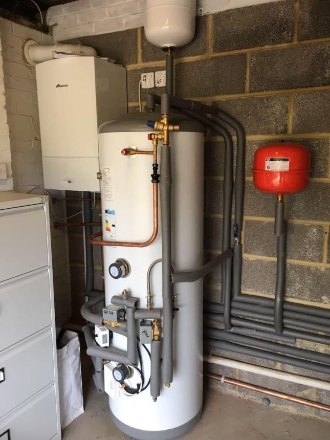 Boiler and Cylinder installation