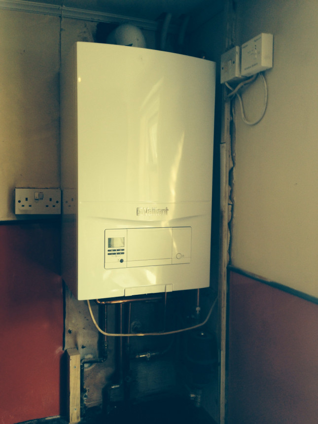 Never install boiler without filter