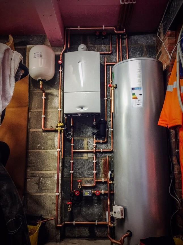 Worcester Bosch Boiler & Cylinder Installed in Beverley.