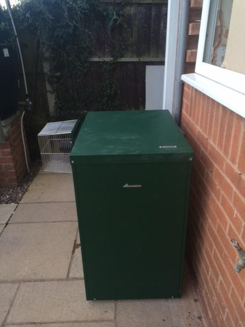 External oil boiler installation in Lincolnshire