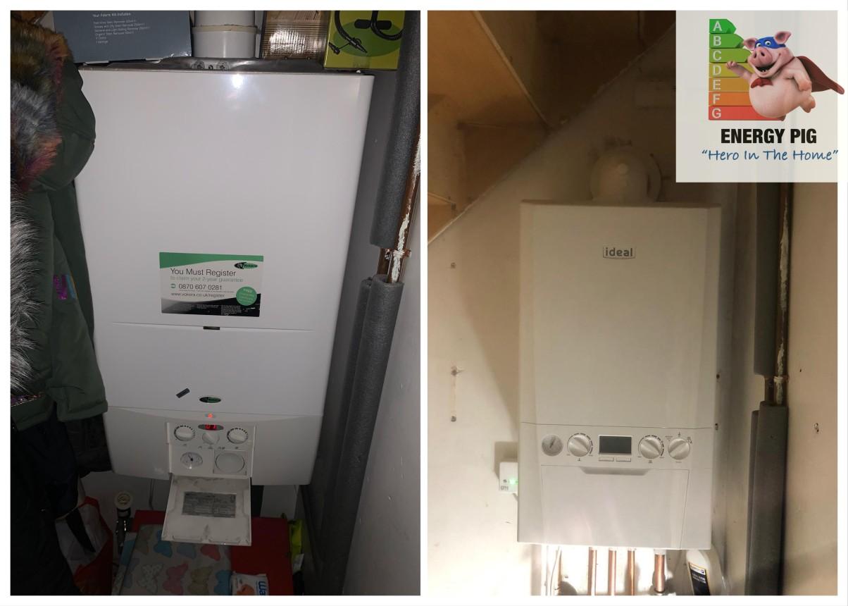 Energy Pig - Ideal Logic 10 year warranty
