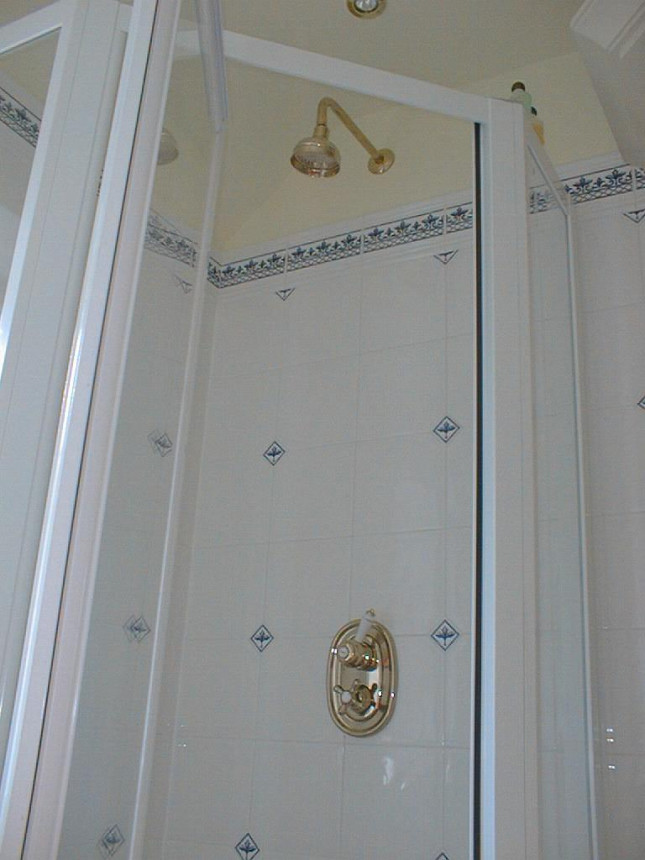 That shower!