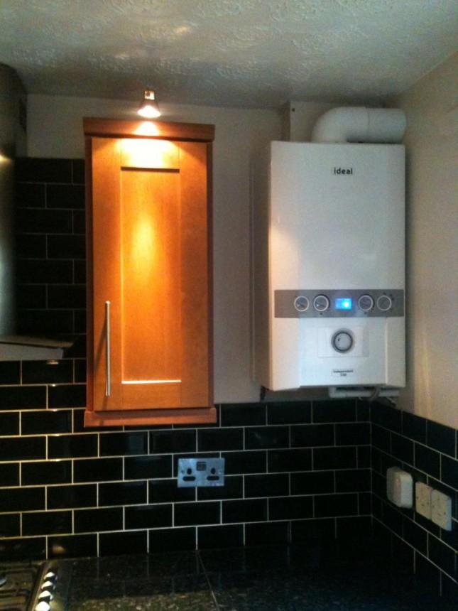 35KW Ideal Independent Combi Boiler