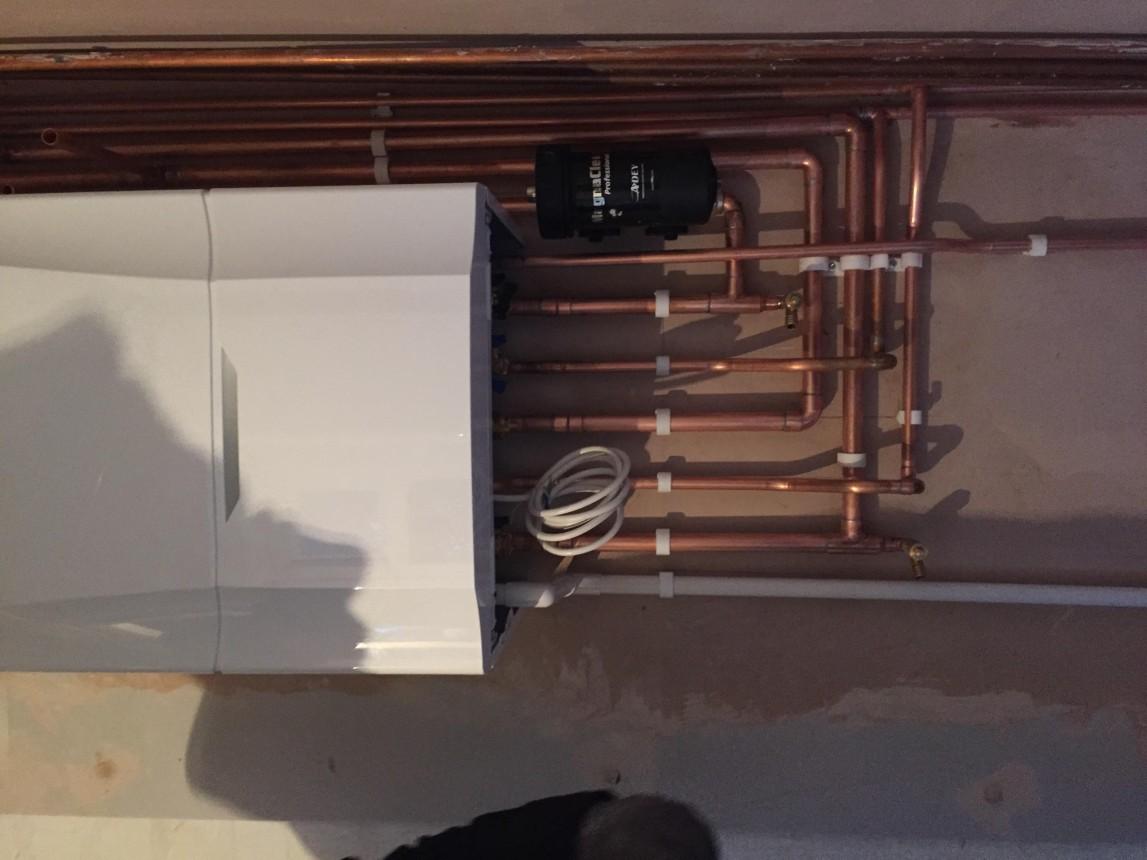 Ideal vogue boiler