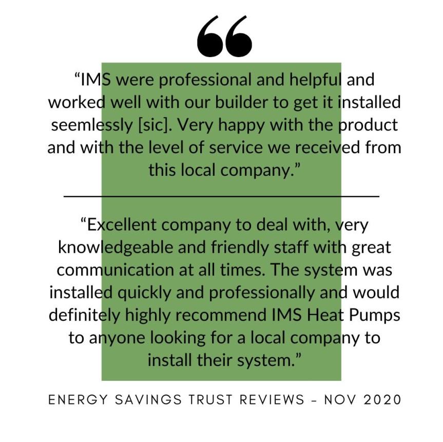 Customer Reviews - November 2020