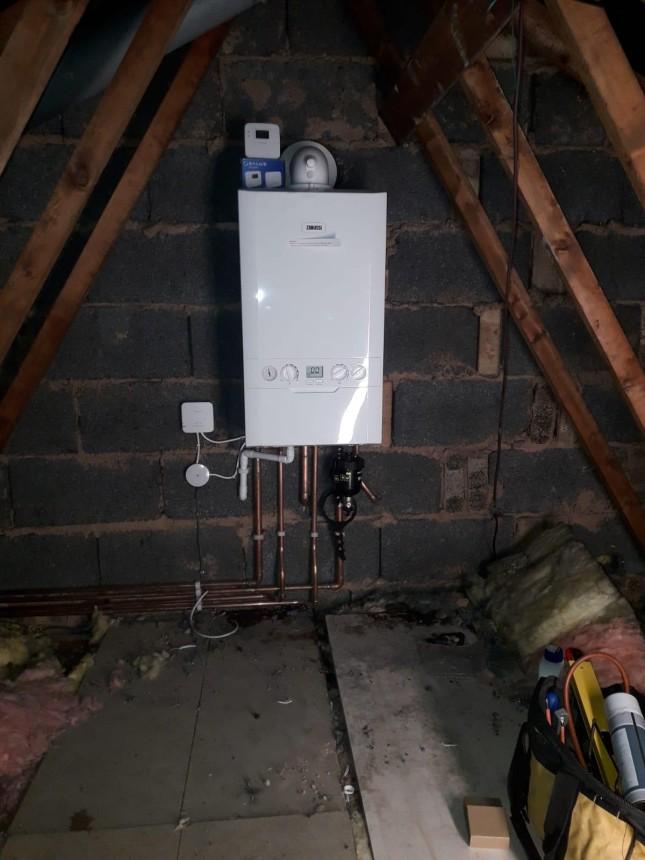 new combi boiler installation & relocation