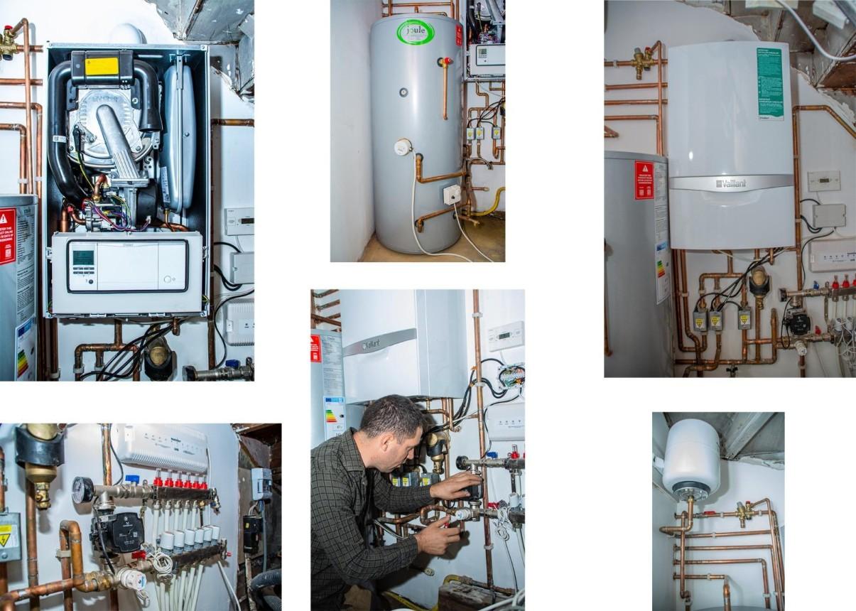 System boiler installation in Golders Green