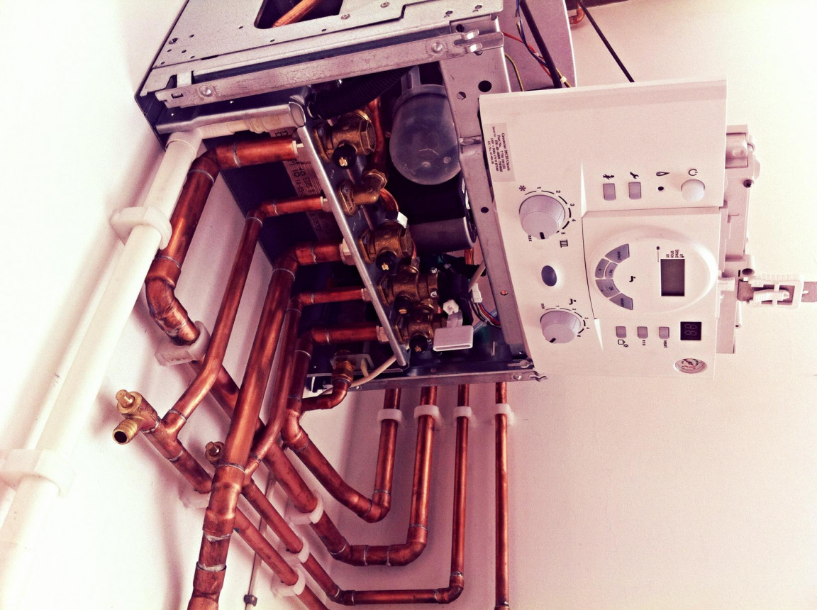 Our own Boiler installation