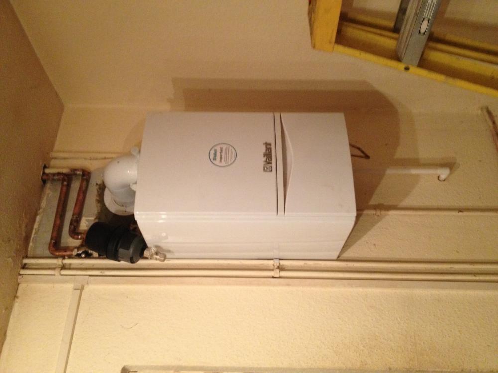 Heat only boiler