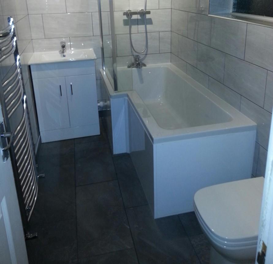New Full Bathroom Refurbished to a Very High Standard