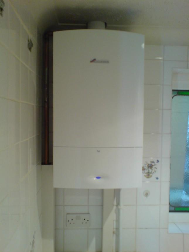 A standard boiler replacement