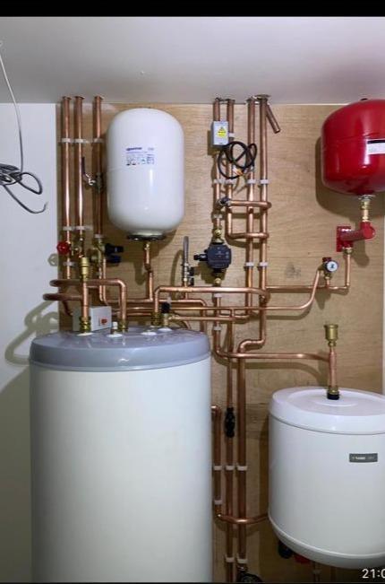 Nibe Air Source Heat Pump