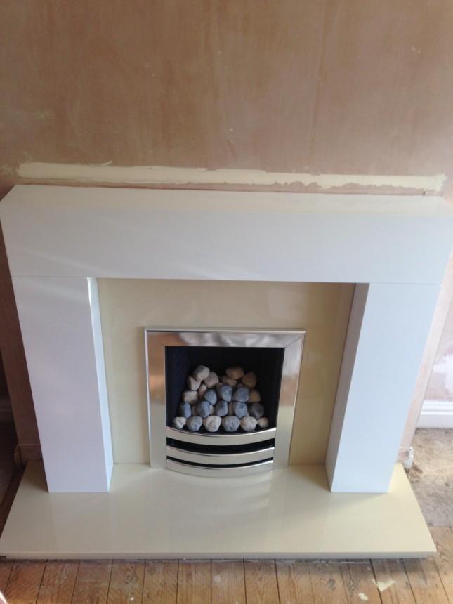 New Gas fireplace