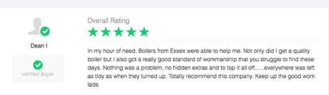 Great Boiler Installation Reviews