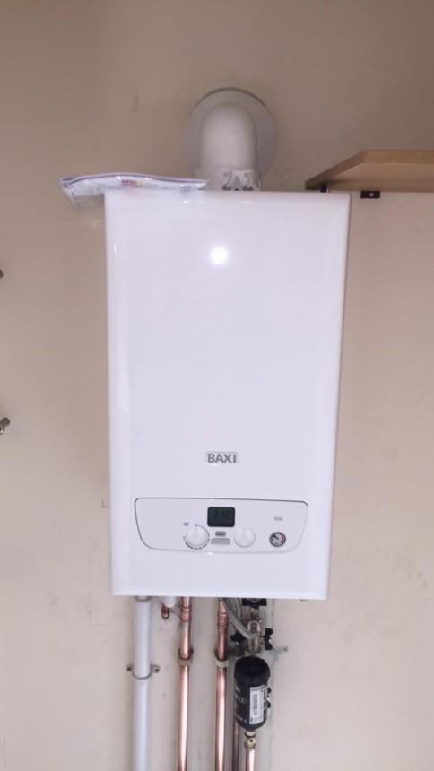 Baxi system boiler