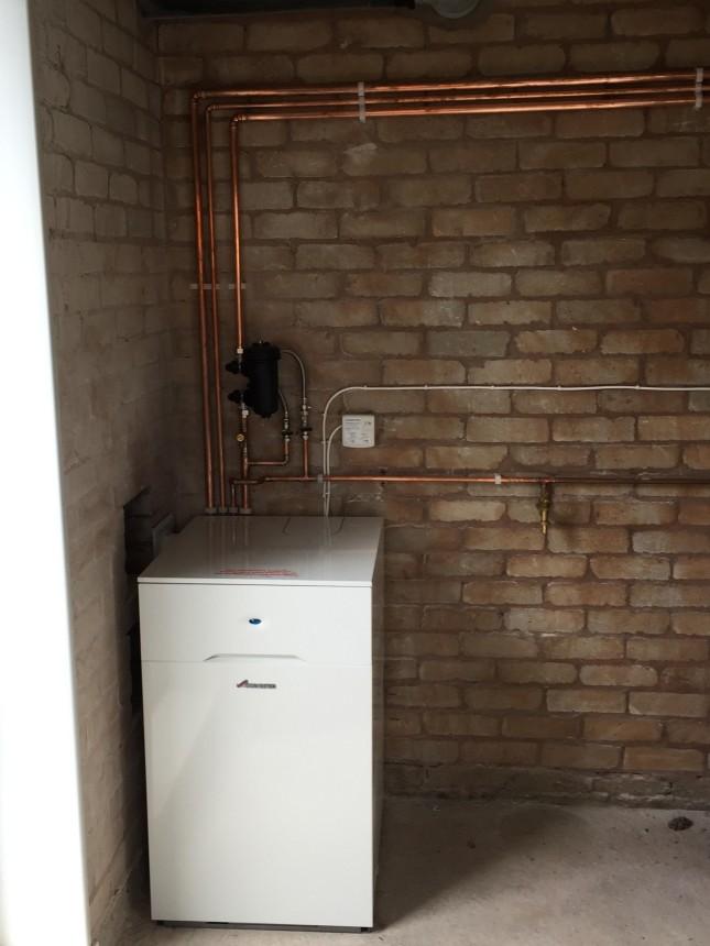 Internal Oil Combination Boiler.