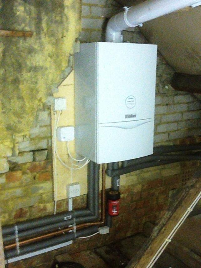 combination boiler loft installation