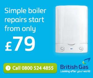 British Gas Boiler repairs