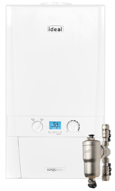 Ideal Logic Max Heat H15 Regular Gas Boiler Boiler