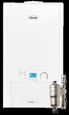 Ideal Logic Max Heat H30 Regular Gas Boiler Boiler
