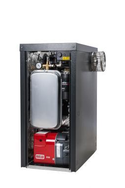 Warmflow Agentis Pro External System 33kW Oil Boiler Boiler