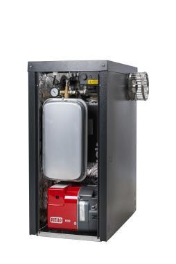 Warmflow Agentis External System 21kW Oil Boiler Boiler