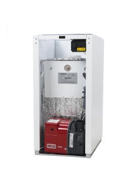Warmflow Agentis Internal Heat Only 21kW Oil Boiler Boiler
