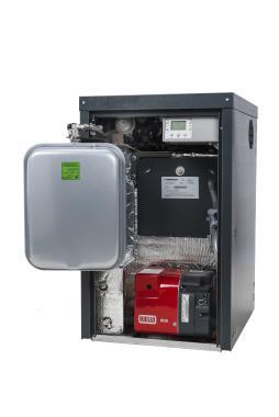Warmflow Agentis External Combi 21kW Oil Boiler Boiler