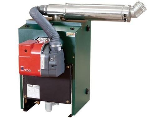 Firebird Enviromax Popular Boilerhouse 44kW Regular Oil Boiler Boiler