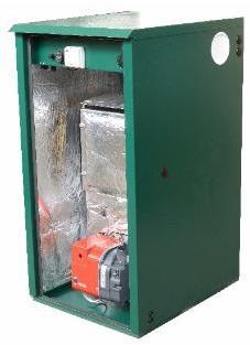 Mistral Outdoor Utility OD5 50kW Regular Oil Boiler Boiler