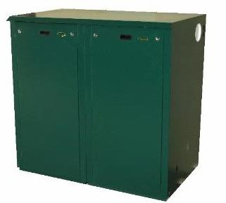 Mistral Outdoor Mega Combi Standard ODMC5 50kW Oil Boiler Boiler