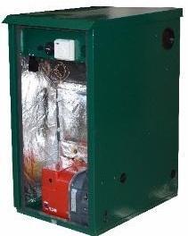 Mistral Outdoor Utility Standard OD3 35kW Regular Oil Boiler Boiler