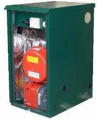 Mistral Outdoor Sealed System Non-Condensing OD SS3 35kW Oil Boiler Boiler