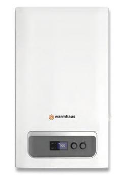 Warmhaus Priwa Plus 40kW Combi Gas Boiler Boiler
