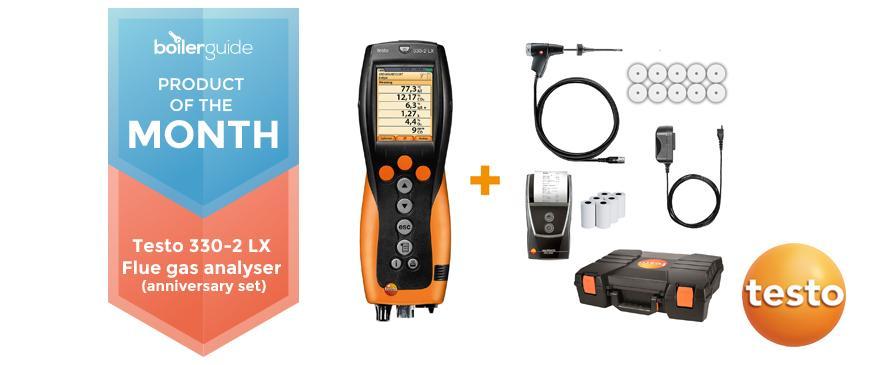 Testo 330-2 LX – Flue Gas Analyser