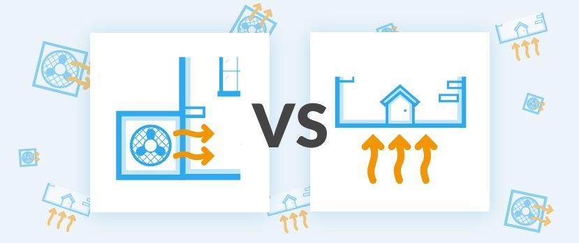 Air Source vs Ground Source Heating Systems