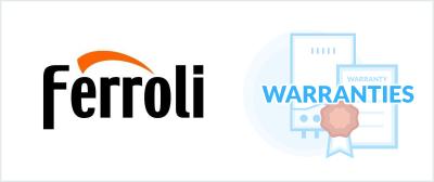 Ferroli Boiler Warranty 2021