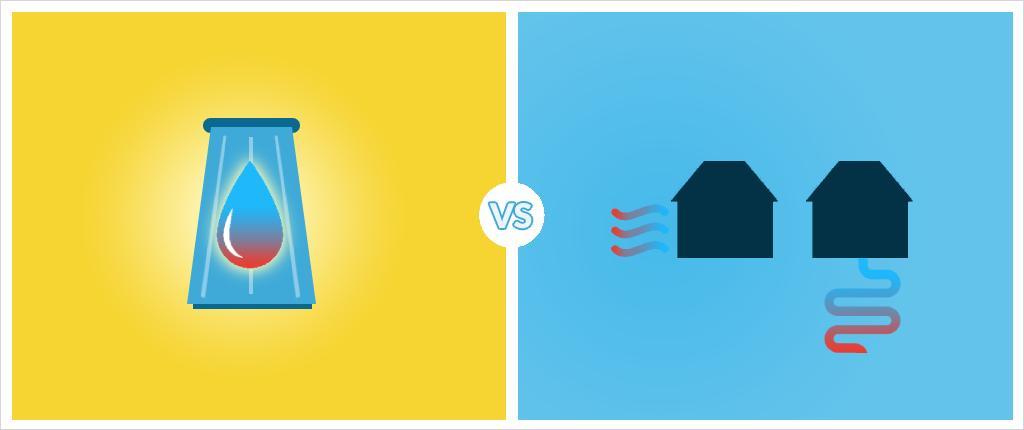 Solar Thermal vs Heat Pumps