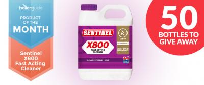 Introducing the Sentinel X800 Fast Acting Cleaner